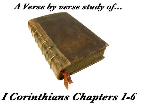 1 Corinthians 1-6